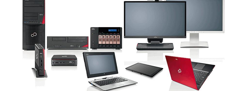 Fujitsu PC Verkauf Computer Made in Augsburg