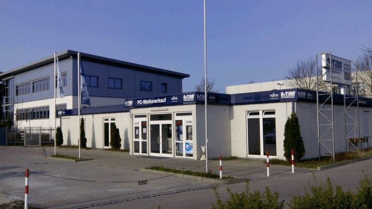 Anfahrt Fujitsu PC Verkauf Augsburg (ehemals Siemens Werksverkauf)