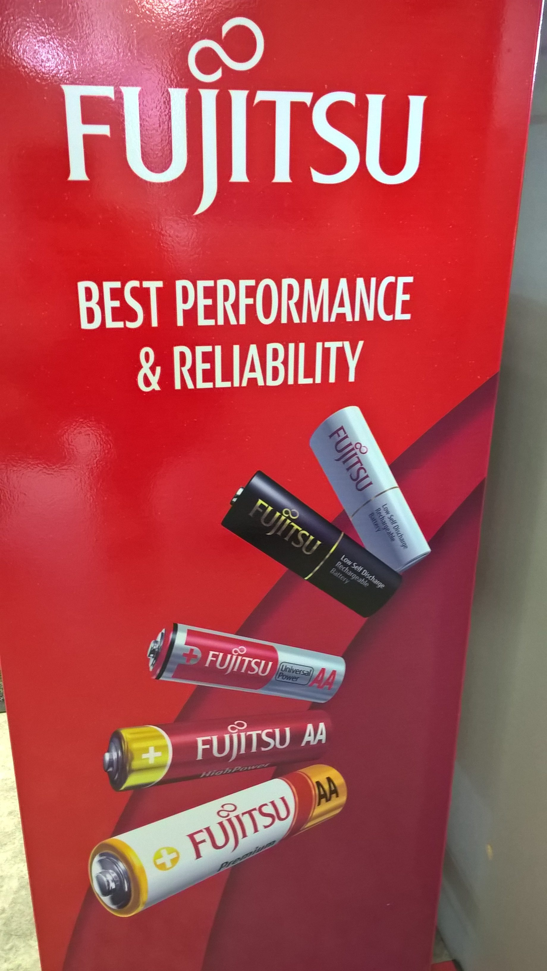Fujitsu Batterie Best Performance and Reliability