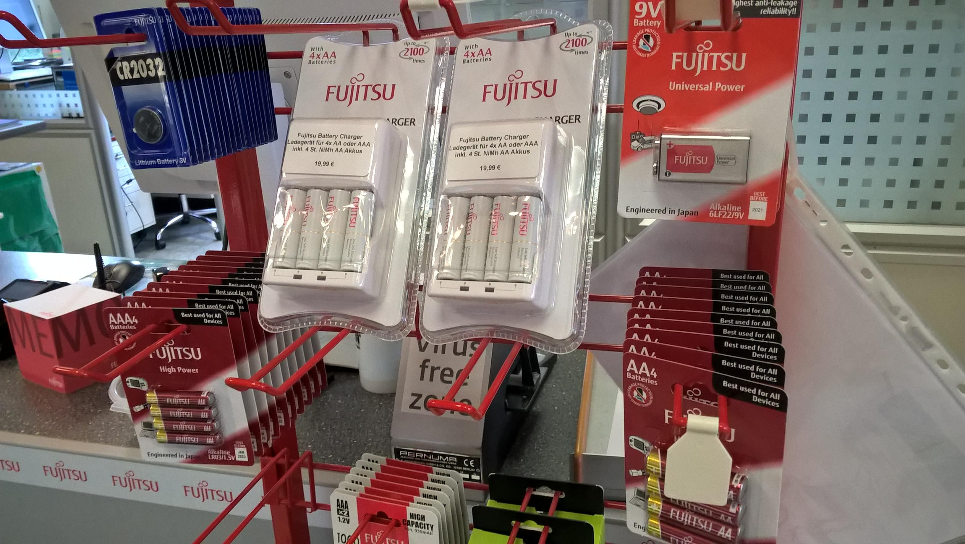 Batterien und Akkus von Fujitsu