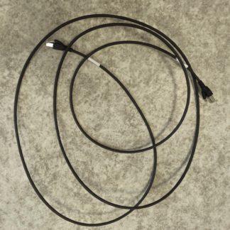 Sortiment Netzwerkkabel gebraucht 5 Stück Länge 3m schwarz