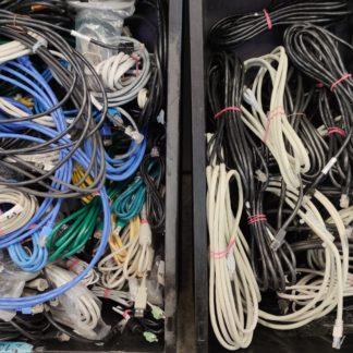 10 Stück Sortiment Netzwerk Patchkabel gebraucht